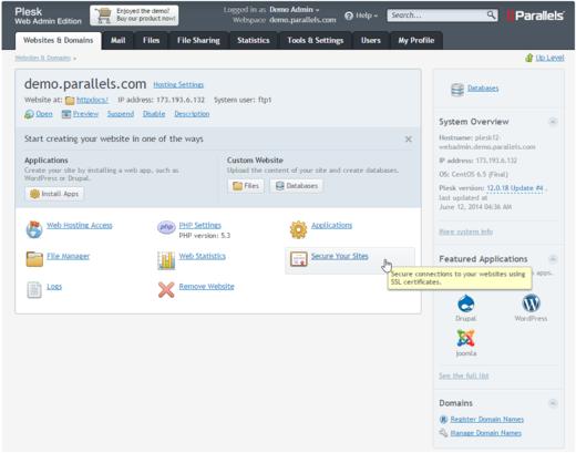 Plesk 12 | Magazin über SSL-Zertifikate und Zertifizierungsstellen