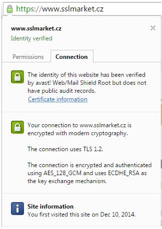 Avast erlaubt den MITM-Angriff sowie Superfish | Magazin über SSL ...