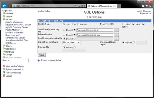 webmin | Magazin über SSL-Zertifikate und Zertifizierungsstellen