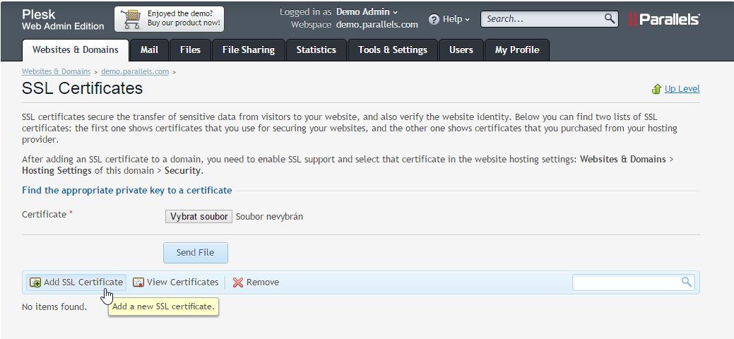 Wie installiert man das SSL-Zertifikat auf Plesk 12   Magazin über ...