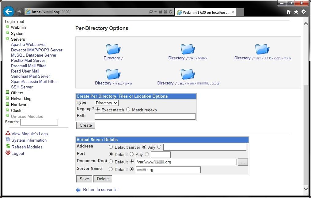webmin-4.jpg | Magazin über SSL-Zertifikate und Zertifizierungsstellen